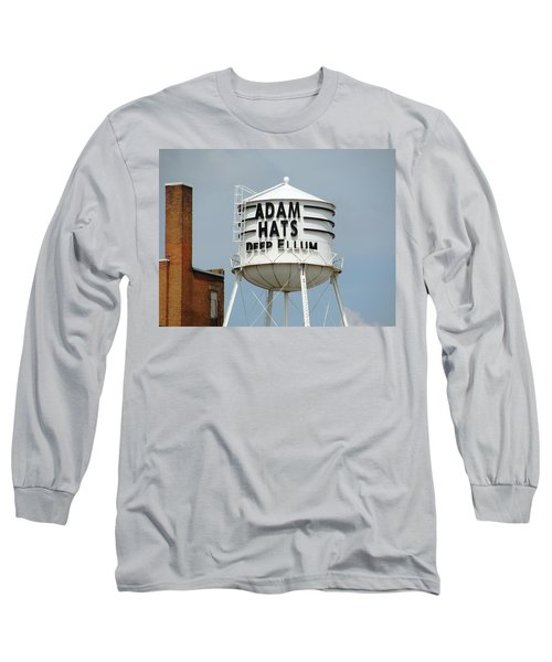 Long Sleeve T-Shirt featuring the photograph Adam Hats In Deep Ellum by Charlie and Norma Brock