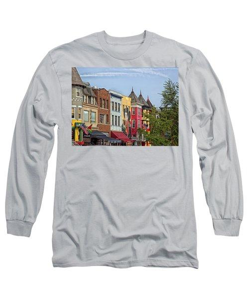 Adams Morgan Neighborhood In Washington D.c. Long Sleeve T-Shirt