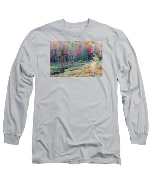 Adirondack Fall Long Sleeve T-Shirt by Mariarosa Rockefeller