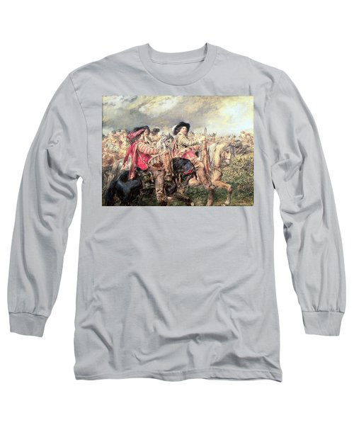 After The Battle Of Naseby In 1645, 1860 Long Sleeve T-Shirt