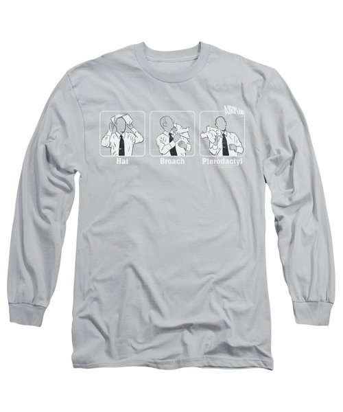 Airplane - Johnny Improv Long Sleeve T-Shirt