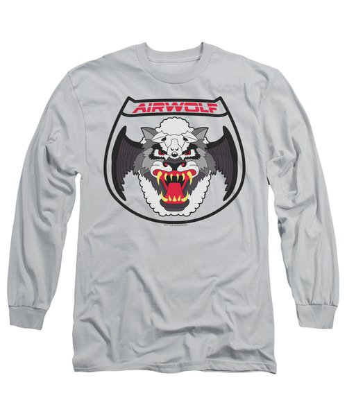 Airwolf - Patch Long Sleeve T-Shirt by Brand A