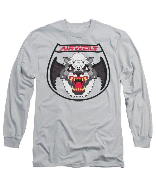 Airwolf - Patch Long Sleeve T-Shirt