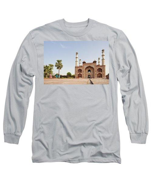 Akbar's Tomb In  India Long Sleeve T-Shirt