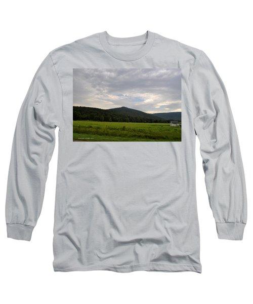 Alabama Mountains 2 Long Sleeve T-Shirt by Verana Stark