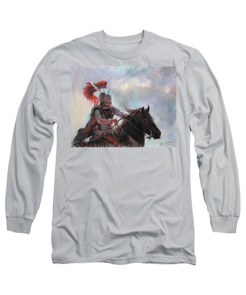 Alexander The Great  Long Sleeve T-Shirt by Viola El