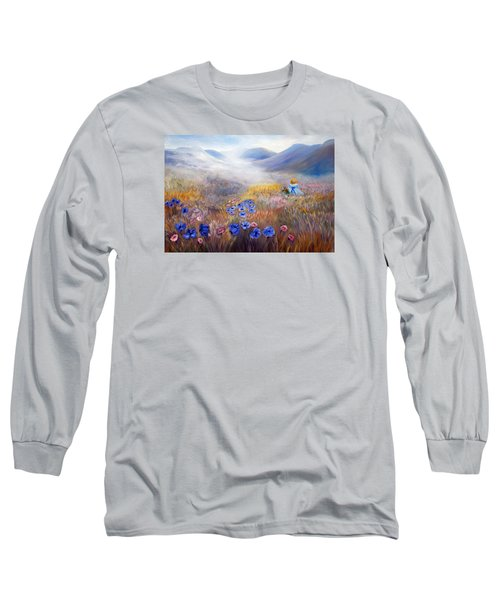 All In A Dream - Impressionism Long Sleeve T-Shirt