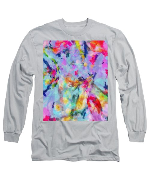 Long Sleeve T-Shirt featuring the painting All Those Good Things by Joe Misrasi