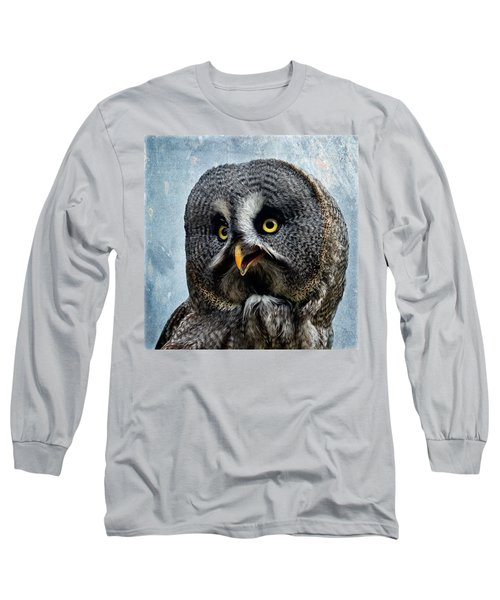 Allocco Della Lapponia - Tawny Owl Of Lapland Long Sleeve T-Shirt