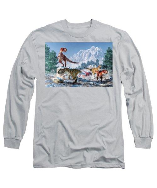 Allosaurus Pack Long Sleeve T-Shirt