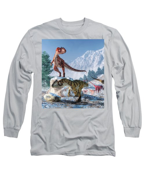 Allosaurus Pack Long Sleeve T-Shirt