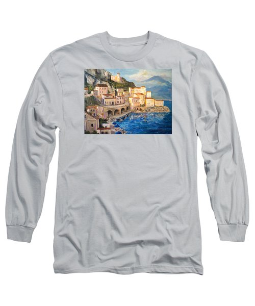 Amalfi Coast Highway Long Sleeve T-Shirt