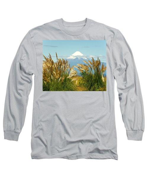 Amber Waves Of Osorno Long Sleeve T-Shirt