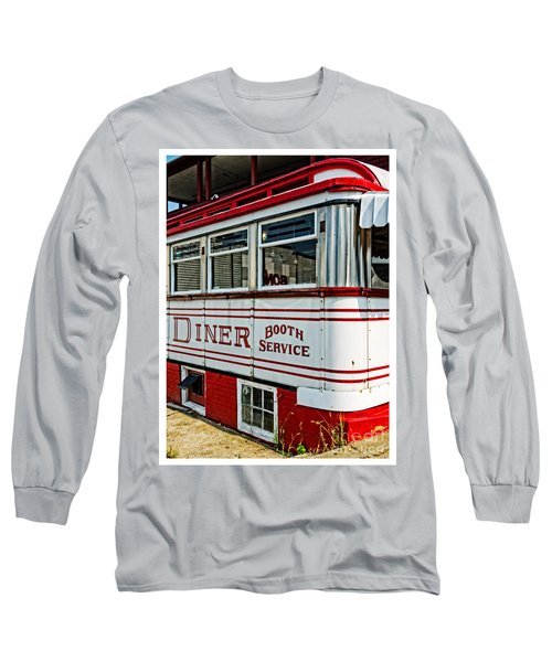 Americana Classic Dinner Booth Service Long Sleeve T-Shirt