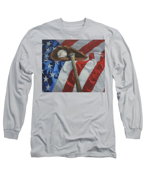 America's Game Long Sleeve T-Shirt