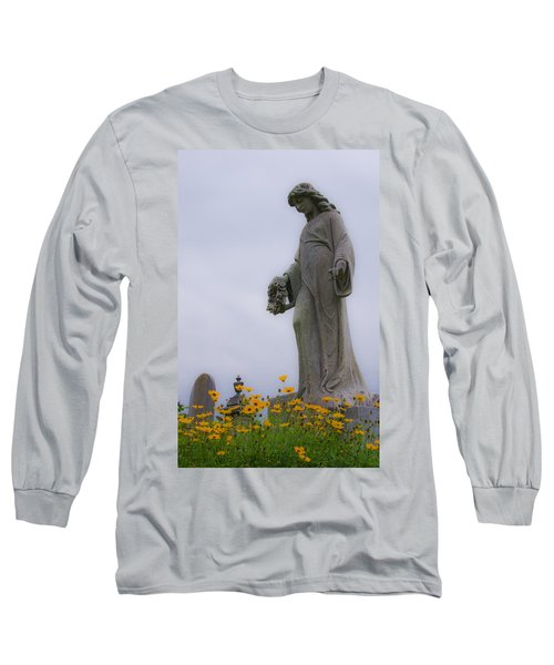 Among The Flowers Long Sleeve T-Shirt