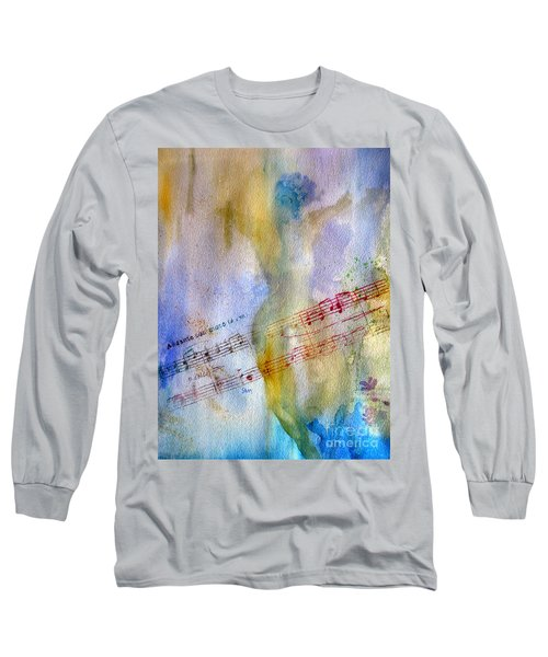 Andante Con Moto Long Sleeve T-Shirt by Sandy McIntire