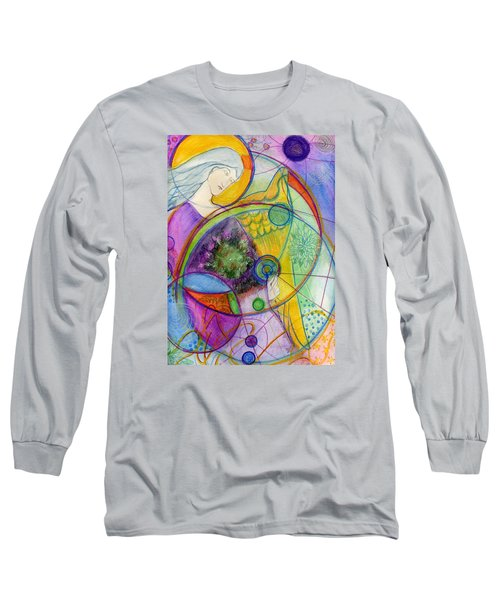 Angel Of The Wheels Of Time Long Sleeve T-Shirt