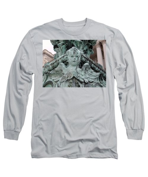 Long Sleeve T-Shirt featuring the photograph Angel Wings by Ed Weidman