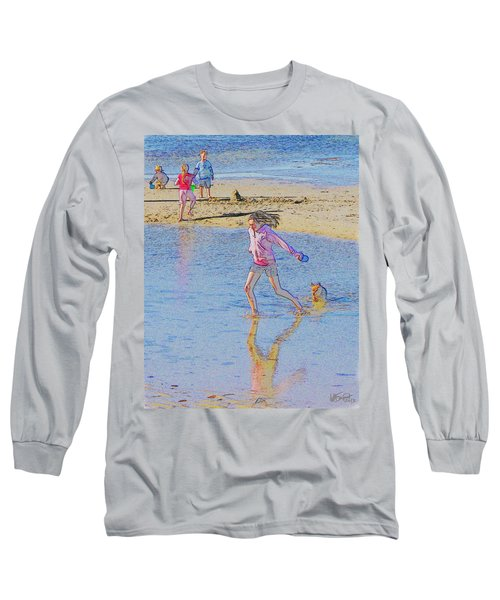 Another Day At The Beach Long Sleeve T-Shirt