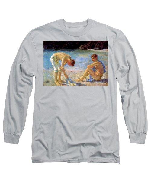 Aquamarine   Long Sleeve T-Shirt