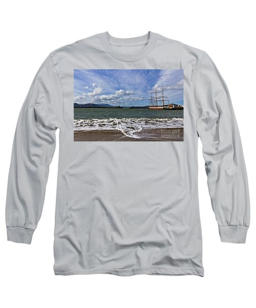 Long Sleeve T-Shirt featuring the photograph Aquatic Park by Kate Brown