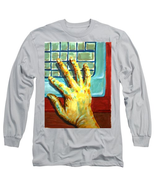 Arbitrary Colors Long Sleeve T-Shirt by Stacy C Bottoms