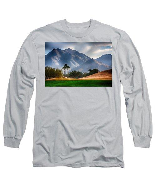Arizona Sunrise Golfing Long Sleeve T-Shirt