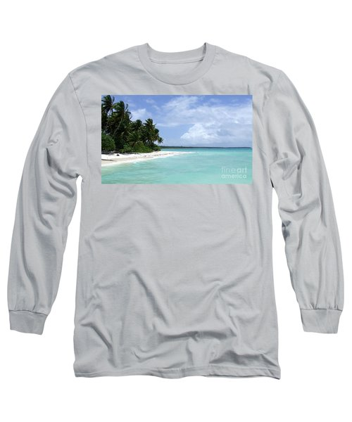 Long Sleeve T-Shirt featuring the photograph Arno Island by Andrea Anderegg