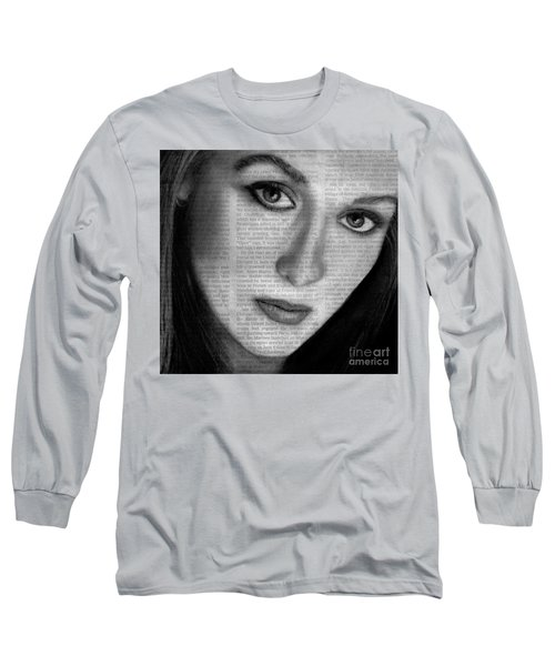 Art In The News 34- Meryl Streep Long Sleeve T-Shirt