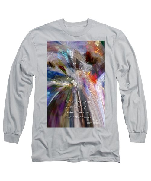 Artist's Prayer Long Sleeve T-Shirt