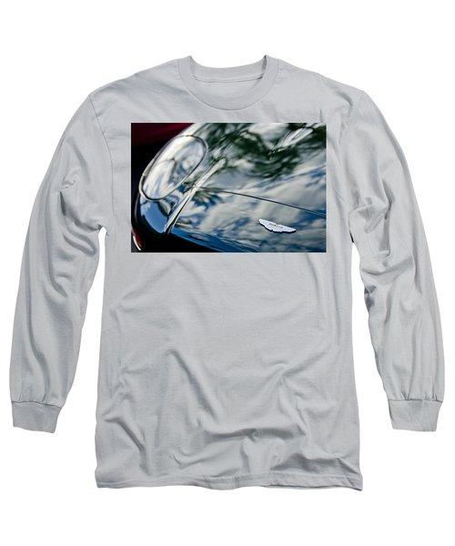 Aston Martin Hood Emblem 4 Long Sleeve T-Shirt