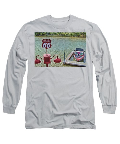 At Lake Havasu Long Sleeve T-Shirt by Cathy Anderson