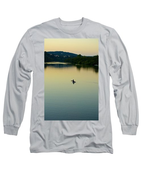 Austin Lady Bird Lake Long Sleeve T-Shirt