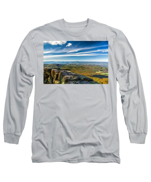 Autumn Colors In The Blue Ridge Mountains Long Sleeve T-Shirt