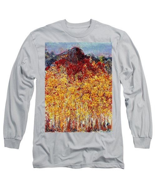 Autumn In The Pioneer Valley Long Sleeve T-Shirt by Regina Valluzzi