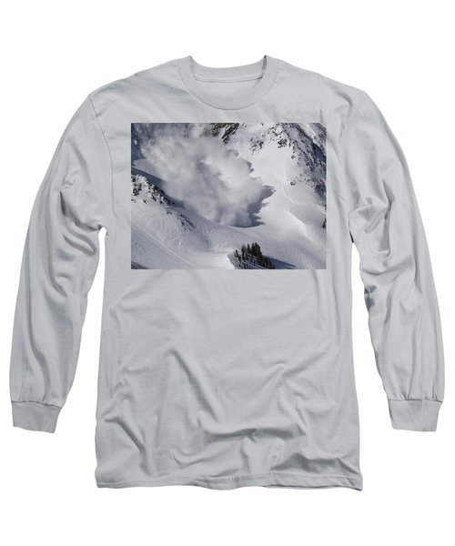 Avalanche Iv Long Sleeve T-Shirt by Bill Gallagher