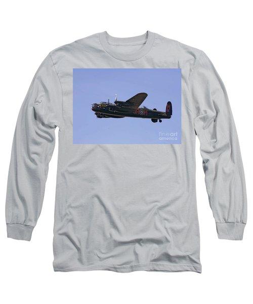 Avro 638 Lancaster At The Royal International Air Tattoo Long Sleeve T-Shirt