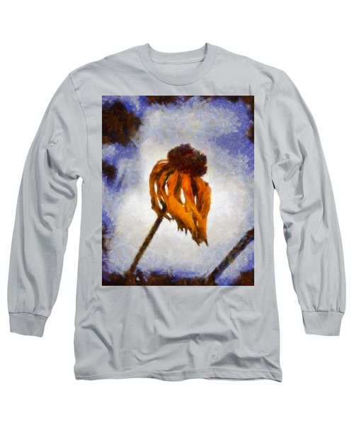 Long Sleeve T-Shirt featuring the painting Awaken A New Life by Joe Misrasi