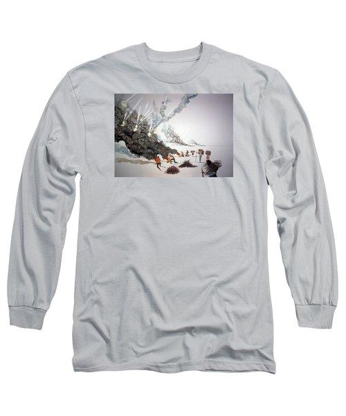 Awakenings Long Sleeve T-Shirt by Lazaro Hurtado