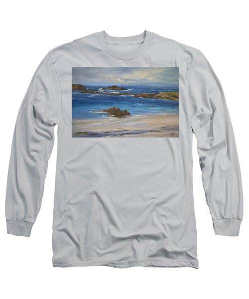 Azure Long Sleeve T-Shirt by Valerie Travers