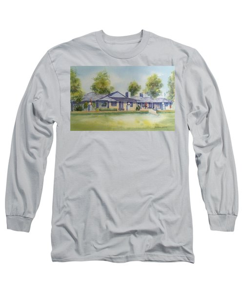 Back Of House Long Sleeve T-Shirt by Debbie Lewis