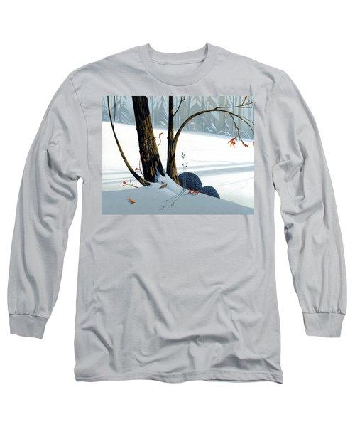 Balancing Act  Long Sleeve T-Shirt by Michael Humphries