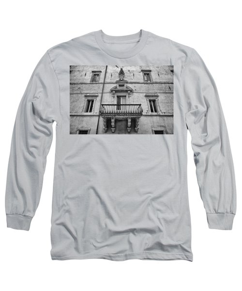 Balcony In Assisi Long Sleeve T-Shirt