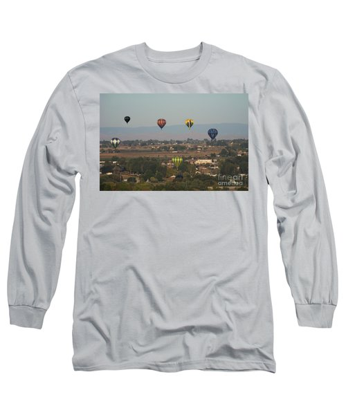 Balloons Over The Valley Long Sleeve T-Shirt