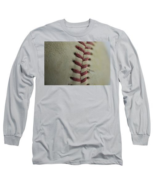 Baseball Macro Long Sleeve T-Shirt