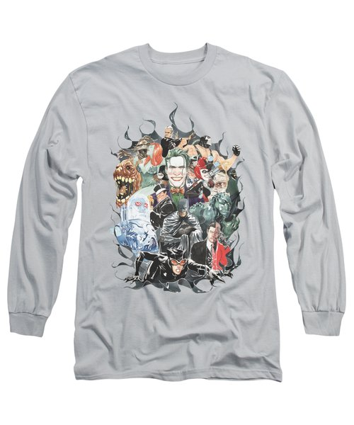 Batman - Cape Of Villians Long Sleeve T-Shirt