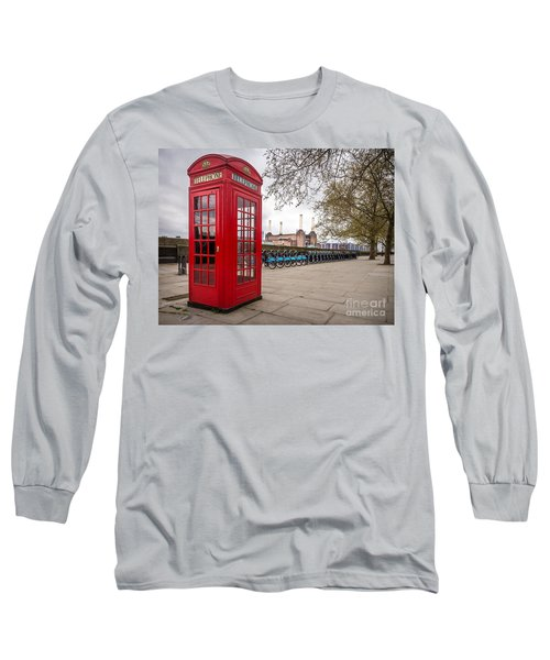 Battersea Phone Box Long Sleeve T-Shirt