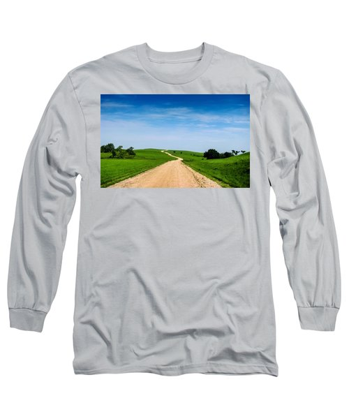 Battle Creek Road From The Saddle Long Sleeve T-Shirt