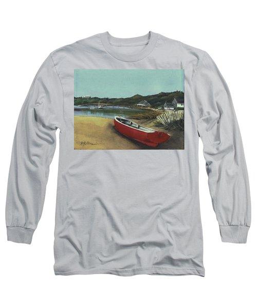 Beached Boat Long Sleeve T-Shirt